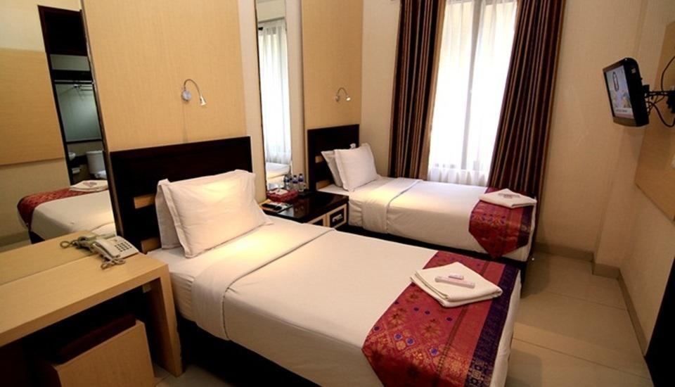 Latief Inn Hotel Bandung - Superior Twin Room Regular Plan
