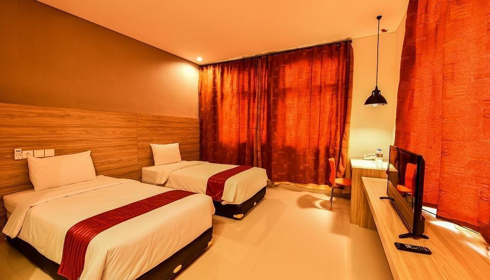 Cherry Homes Express Hotel Bandung - Deluxe Tempat Tidur Twin