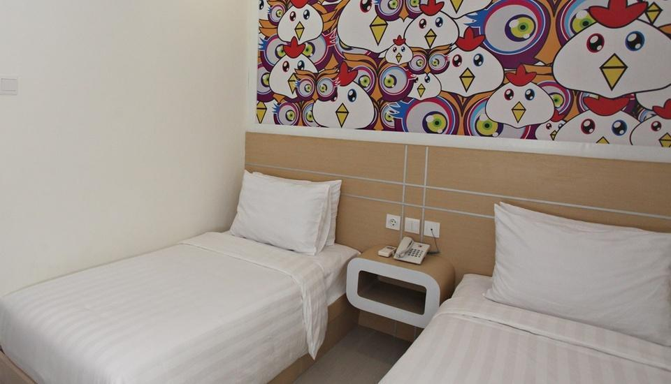 Nite & Day Surabaya - Gunungsari Surabaya - Nite Room Twin Size Regular Plan