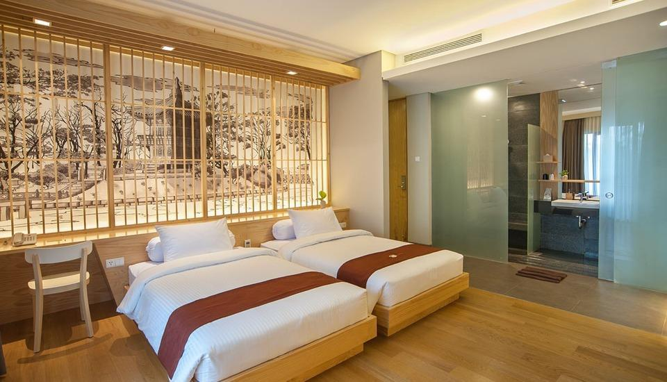 Tama Boutique Hotel Bandung - Suite Twin Balcony Regular Plan