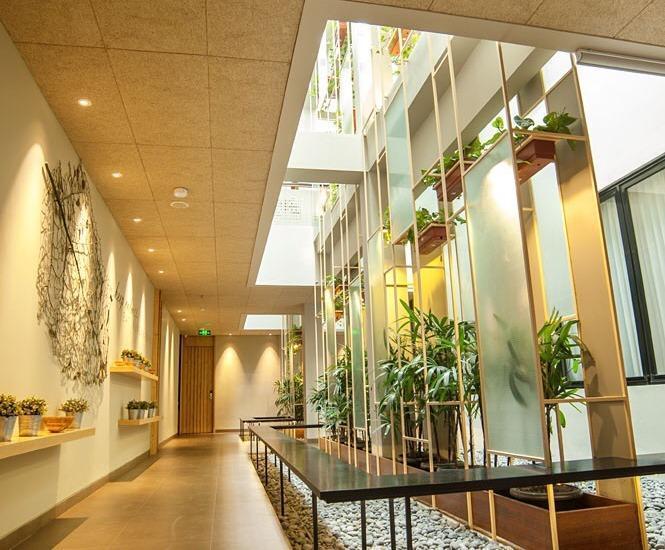 Tama Boutique Hotel Bandung - Corridor