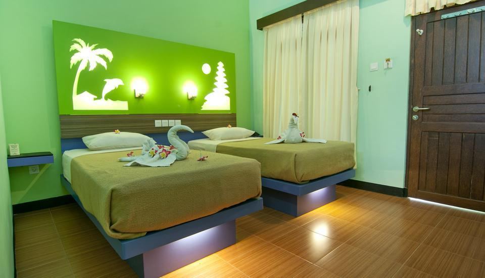 Banyualit Spa & Resort Bali - Standard Room with Fan Regular Plan