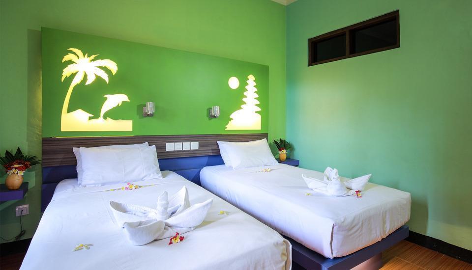 Banyualit Spa & Resort Bali - Kamar Standard dengan Kipas Angin