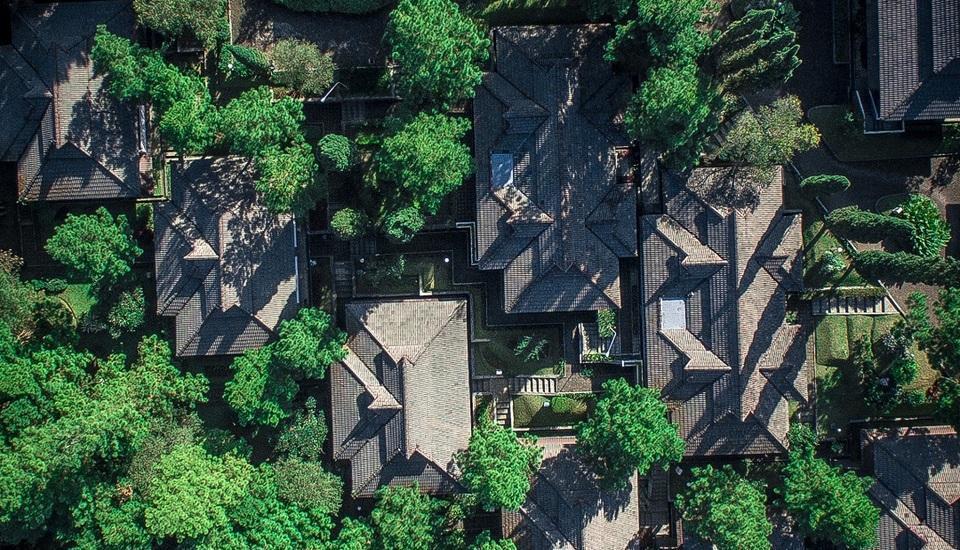 Puteri Gunung Hotel Lembang - Bird Eye