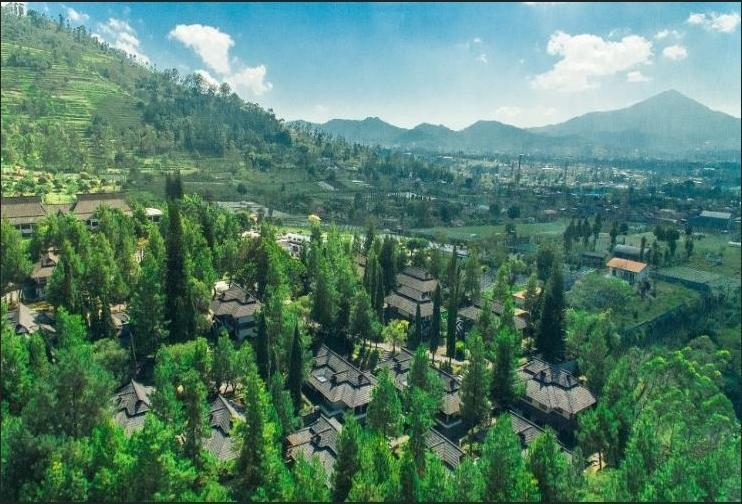 Puteri Gunung Hotel Lembang - Surroundings
