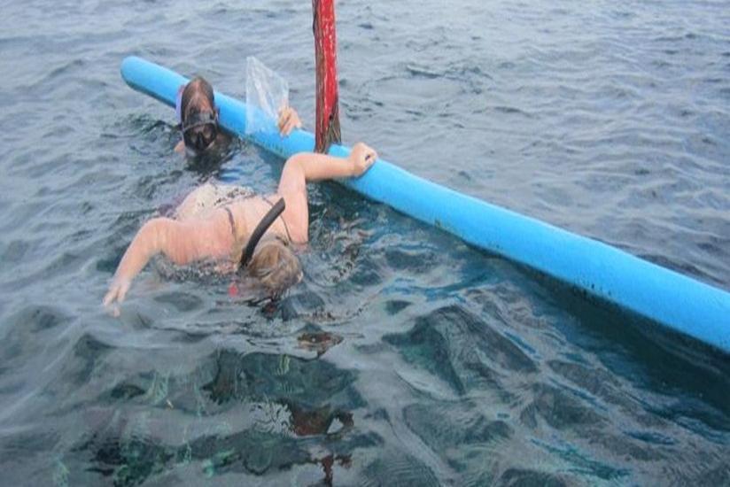 Rigils Lembongan Bungalows Bali - Snorckling