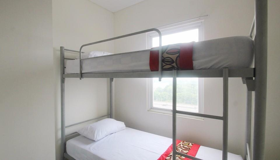 Apartment Northland Residence Jakarta - 1 Double Bed & Bunk Bed Regular Plan