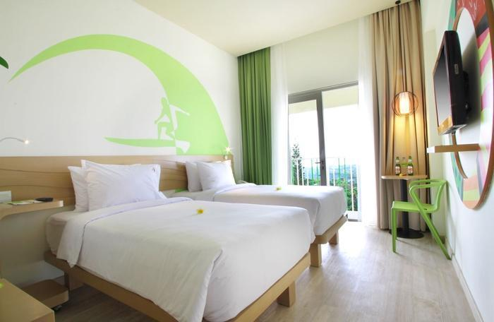 MaxOne Hotels Bukit Jimbaran - Happiness Room Tanpa Sarapan Hot Deal 40 % without Breakfast Non Refundable