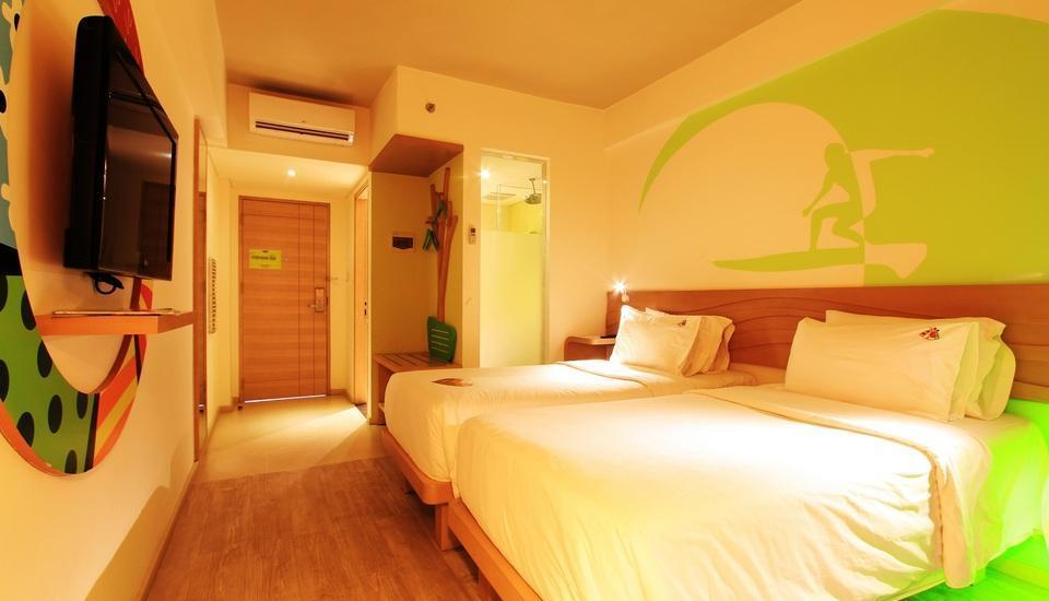 MaxOne Hotels Bukit Jimbaran - Max Happiness Room Tanpa Sarapan Nuyear Nuyou Offer
