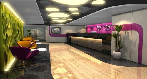 Fave Hotel Cililitan - Lobby