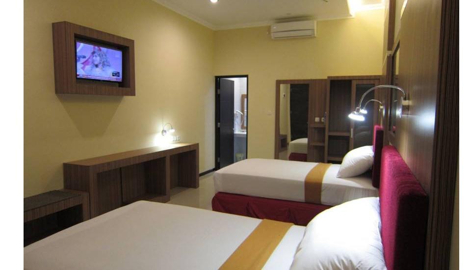 Hotel Banjar Permai Banjarbaru - situasi kamar