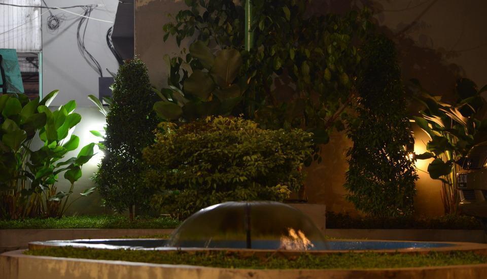 Putra Mulia Hotel Medan - Air mancur