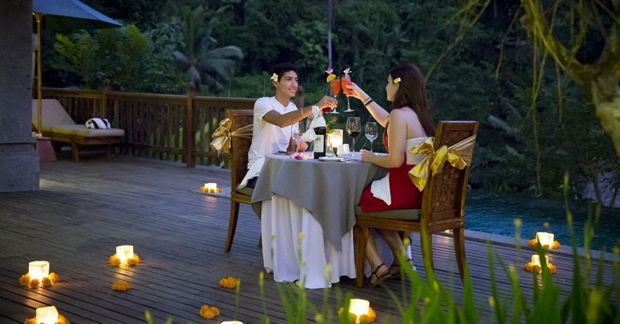 The Lokha Ubud - Candle Light Dinner