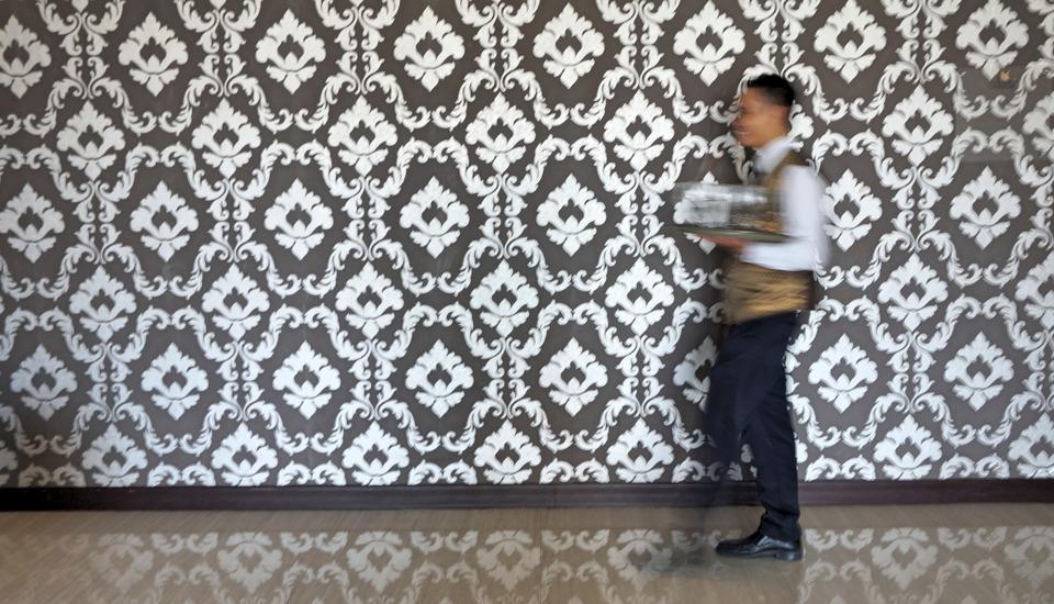 Noormans Hotel Semarang - Teras ruang pertemuan yang luas