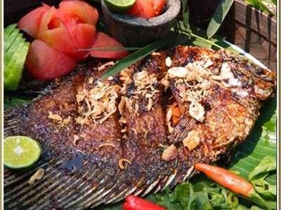 The Green Forest Resort Bandung - Grilled Fish