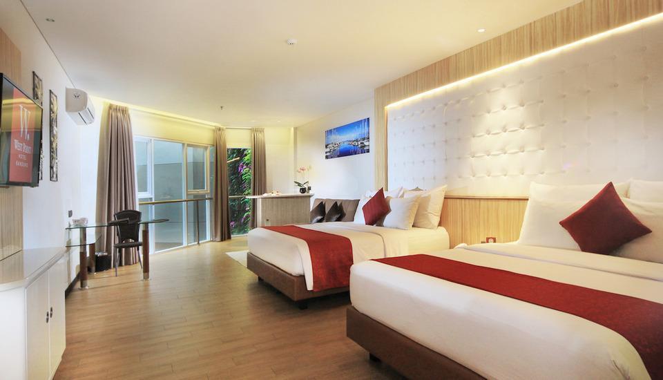 West Point Hotel Bandung - Kamar Keluarga