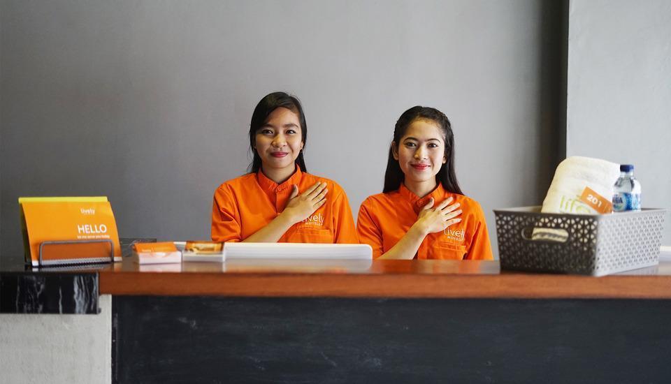 The Lively Hotel Kualanamu Medan - EMPLOYEE
