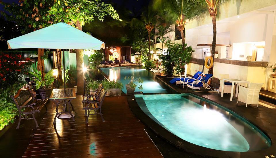 Marbella Pool Suites Seminyak - Kolam Renang