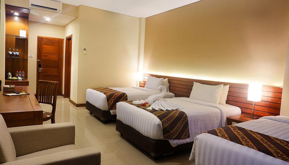 Royal Casa Ganesha Hotel & Spa Ubud Bali - Triple Deluxe Room Only Last Minute Offer