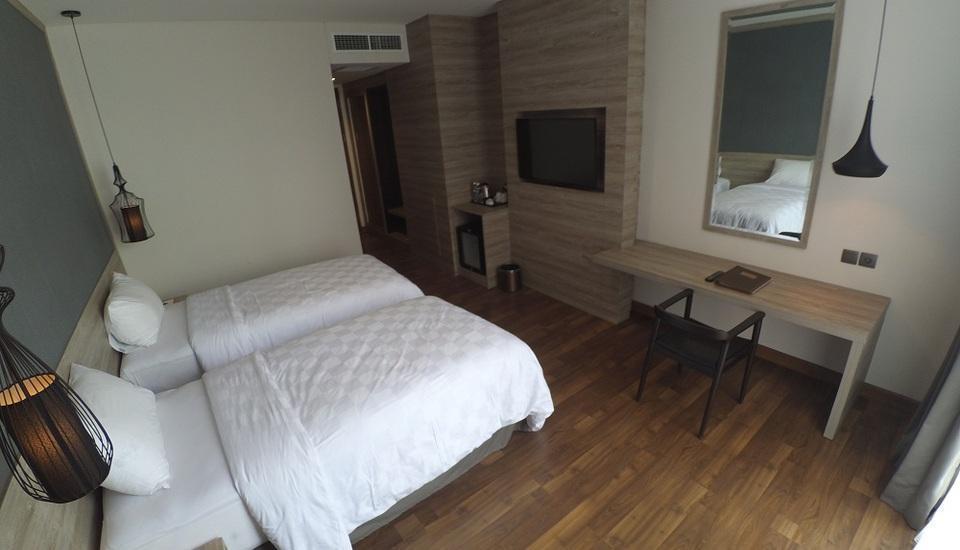 Rivoli Hotel Jakarta - kamar deluxe twwin