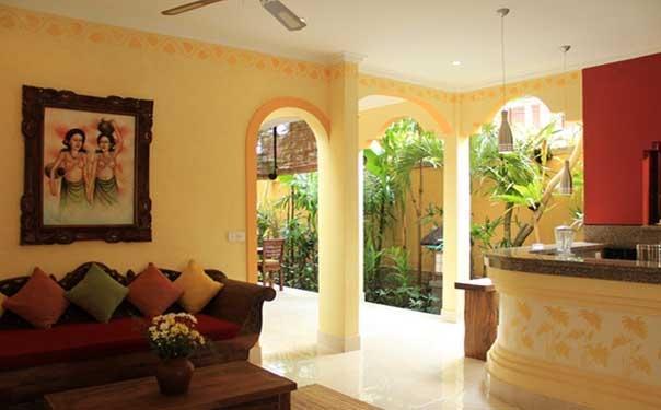 Mawa House Ubud Bali - Ruang Tamu