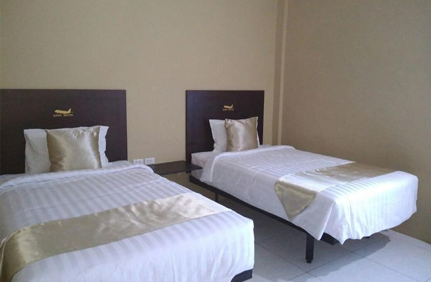 Hotel Aero Deli Serdang - Deluxe Twin Regular Plan