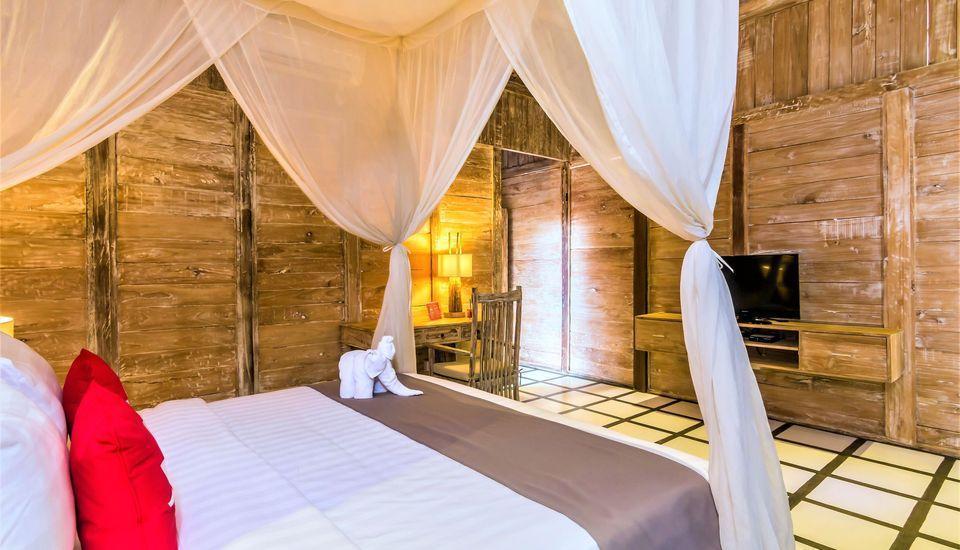 ZEN Premium Ubud Nyuh Bojog Bali - Tempat Tidur Double