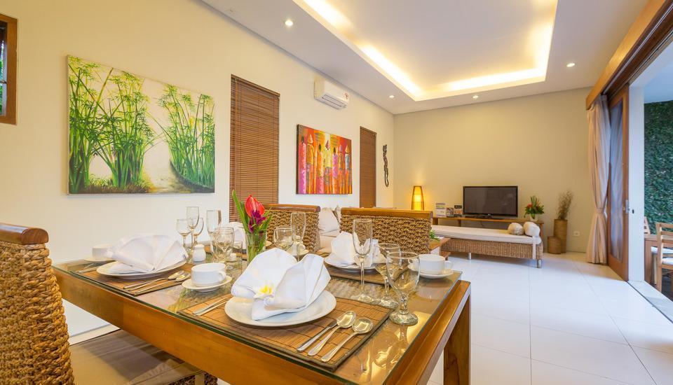 Nagisa Bali Easy Living Canggu Bali - Ruang Makan