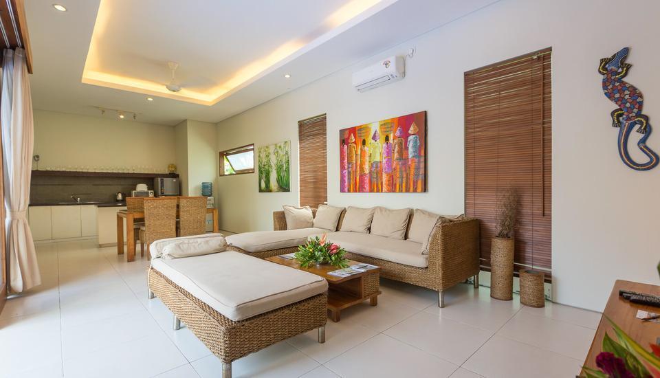 Nagisa Bali Easy Living Canggu Bali - Ruang Keluarga