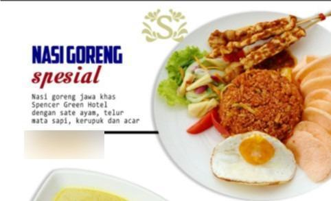 Spencer Green Hotel Malang - Food Dinner Packages