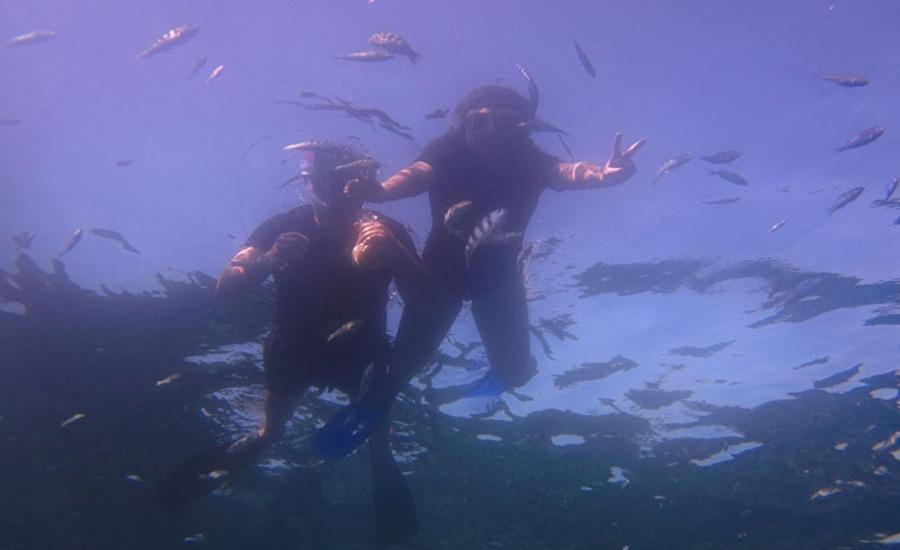 Dinatah Lembongan Villas Bali - Menyelam
