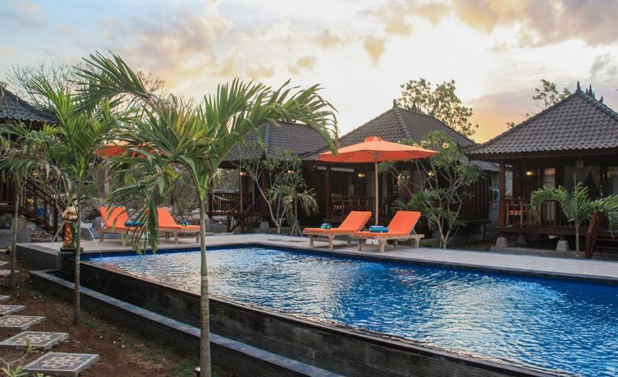 Dinatah Lembongan Villas Bali - Kolam Renang