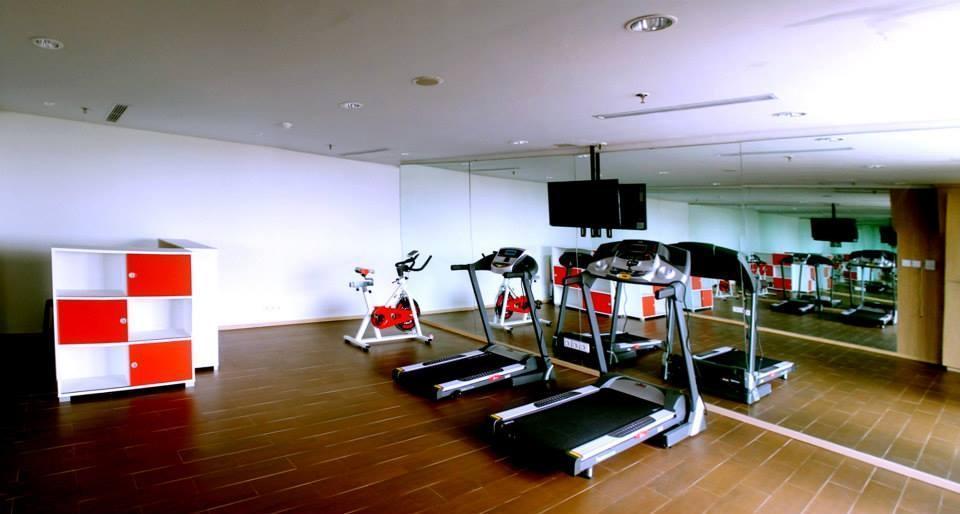fave hotel Palembang - Ruang kebugaran