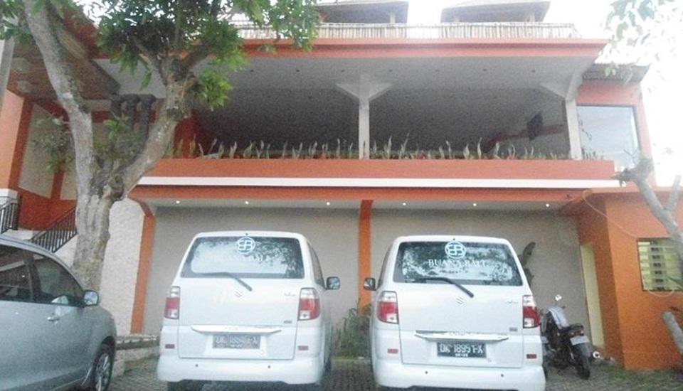 Buana Bali Luxury Villas and Spa Bali - Area parkir