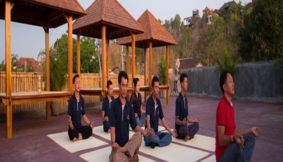 Buana Bali Luxury Villas and Spa Bali - Yoga area