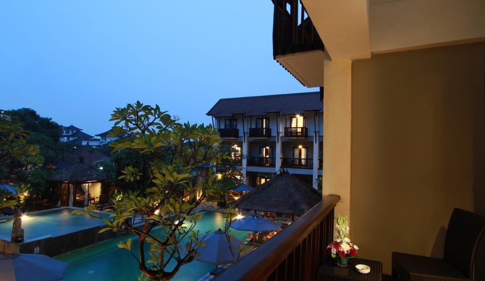 The Lokha Legian Bali - superior balcony view