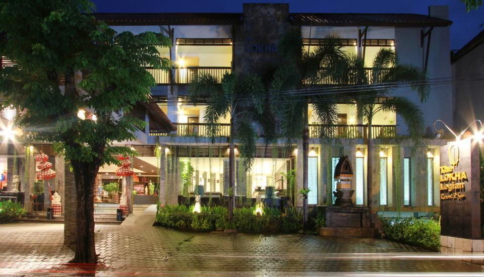 The Lokha Legian Bali - Hotel front side
