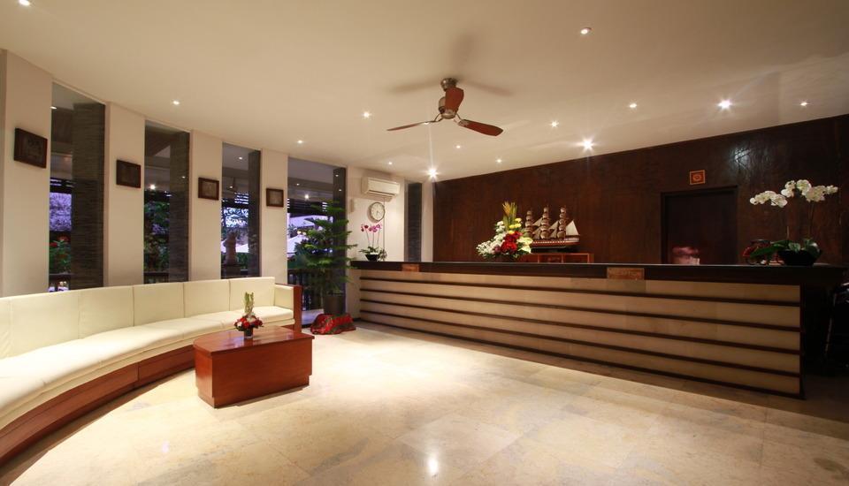 The Lokha Legian Bali - Lobby inside