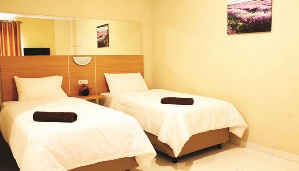 Virtual Rooms Cirebon Hotel Taman Pemuda 88 Cirebon - Twin Standard Room Only Regular Plan
