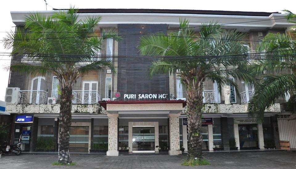 Hotel Puri Saron Denpasar Bali - Tampilan Luar Hotel
