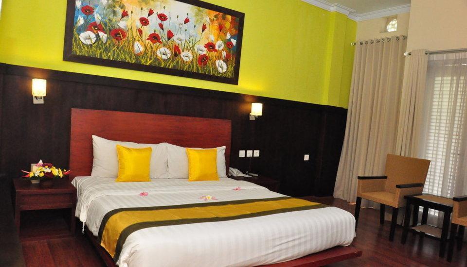 Hotel Puri Saron Denpasar Bali - Deluxe PENAWARAN MENIT TERAKHIR