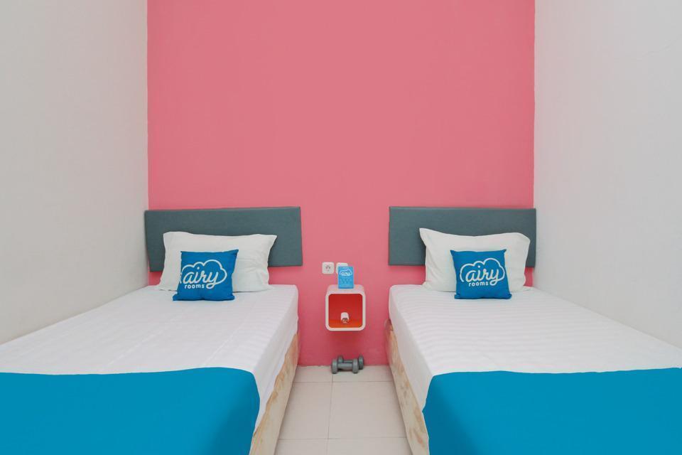 Airy Eco Syariah Solo Baru Sukoharjo Soekarno 20 - Deluxe Twin Room Only Special Promo Jan 5