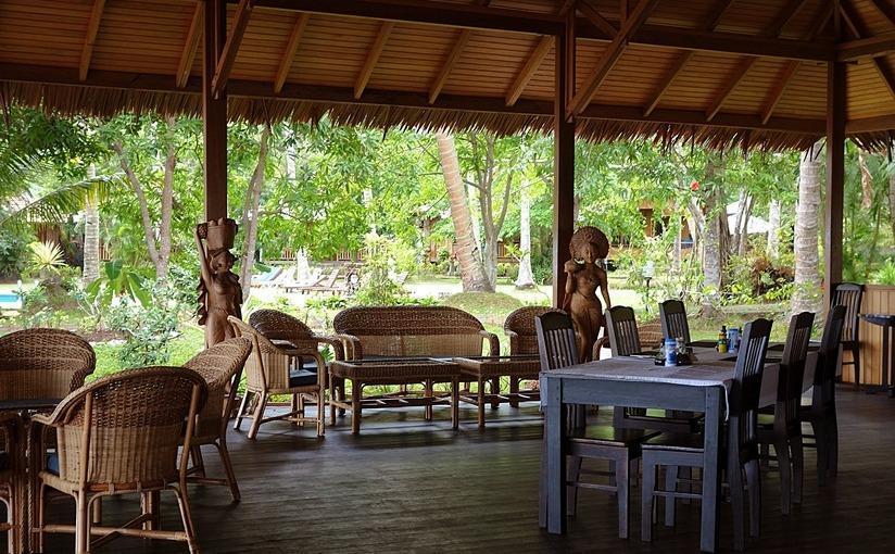 Mapia Resort Manado - Ruang makan