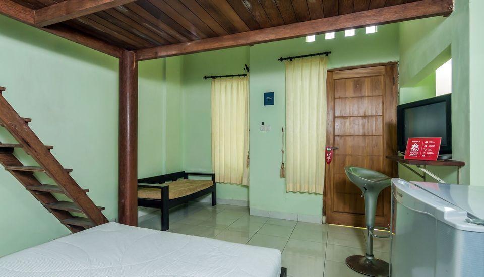 ZenRooms West Gatot Subroto Denpasar - Tempat Tidur Double