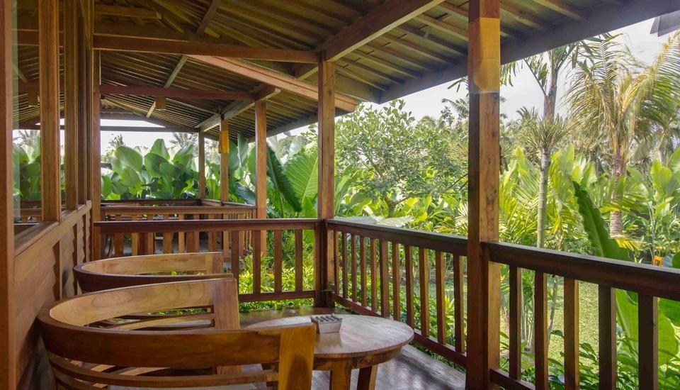 Pertiwi Bisma 2 Ubud - Balkon
