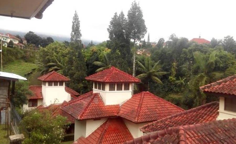 Villa Salman Bumi Ciherang Cianjur - Pemandangan