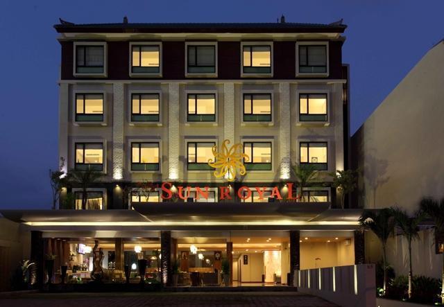 Sun Royal Hotel Kuta - Tampak Depan