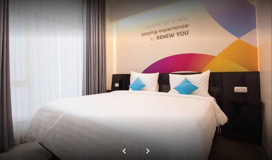 Oriza Hotel Perak Surabaya Surabaya - Deluxe Room With Breakfast Regular Plan