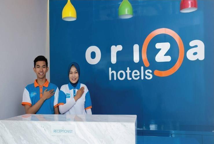 Oriza Hotel Perak Surabaya Surabaya - Reception