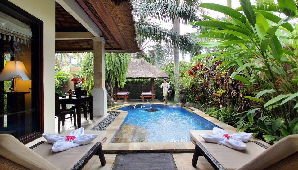 Furama Villas Ubud - private pool - deluxe pool villa